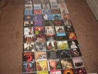 for sale 120 CD's Music. 54 CD's are sealed Please see