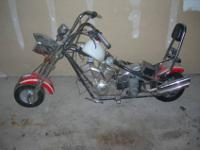 Mini Chopper project bike~ pics show what comes with