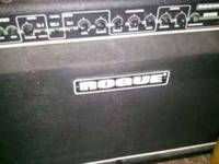 Rogue RG120R amp. This amp has rarely been used and is