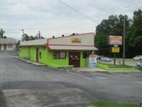 1,200 SF includes coolers and sales counter. Located