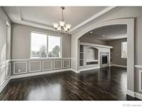 Beautiful New Home with Garden Level Basement in Gated