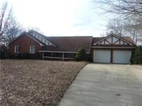 Brick Ranch with in ground pool, fenced yard, full
