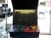 Standup multicade arcade 1208 in one w/keys. This is