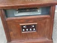 Nice electronic infrared heater. Great condition. Model