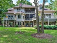 Spacious 5BR/4.5 BA direct waterfront custom home on 1