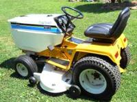 I'M OFFERING FOR SALE A NICE CLEAN CUB CADET