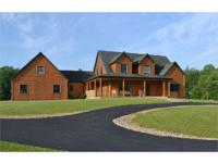 This spectacular home on 40 acres offers a combination