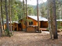 Stunning 2/2 cabin with 600ft of Lake Creek frontage on