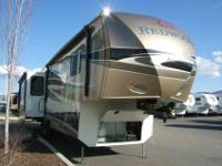 2013 CROSSROADS REDWOOD 36RE BLK&TAN/COASTALTR,