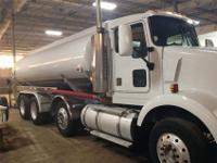 Crude Oil Truck with Beal Trailer can haul 270 BBLS