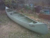 seventeen feet OUACHITA ALUMINUM CANOE. STOCK FACTORY