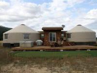 $125.00 3-bedroom Luxury Yurts --Hot Tub-Satellite TV!