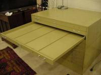 This is a nice Blueprint / Art Cabinet Large Format