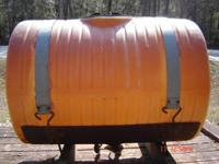 125 Gallon Front-Mount Plastic Tank and frame (Can be