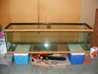 I bought this 125 gallon tank / aquarium brand new and