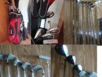 I have a set of Confidence golf clubs. They are a left