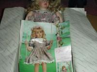 "Georgetown Collection ""Ashley"" Porcelain Doll by Pamela"