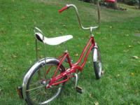 This is a 1970's Schwinn Sting Ray Fair Lady. All