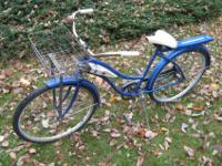 HUFFY GALAXIE GIRL'S BIKE - 1950'S TO EARLY 60'S,