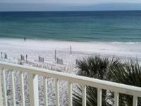 2 bedroom 2 bath condo straight on the gorgeous white