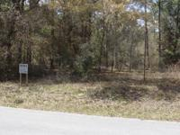 This is a one acre building lot in Rainbow Acres