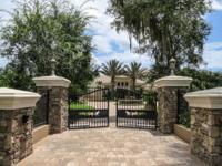Check out this distinctive, custom home located on a