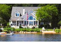Lakeside living at its best! 76 feet of Gun Lake