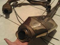 Selling OEM 2007 Honda CBR600RR Full Exhaust OEM