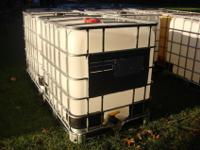 I have 275 gallon water tote tanks. Several avaliable.
