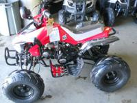 Youth kid size  Atvs are fully assembled with warrenty.