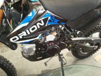 This is a Brand New 2012 Appollo DB 007 125cc Dirt