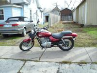 2001 kawasaki has 1500 mi. on bike. is in perfect