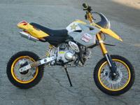 All are new 125cc 4 stroke CA off road approved Honda