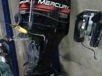 I have for sale a 2001 mercury 125hp outboard