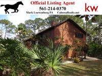 Tropical House Among The Trees on 5.29 Acres in Palm