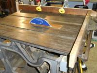 I have a Table Saw that was Manufactured in 1888,