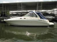 2002 Sea Ray 36 SUNDANCER Deluxe family cruiser with