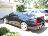 2006 Chevy Monte Carlo SS. Black two door coupe with
