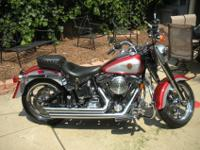 Customized 1999 Harley Davidson -- FATBOY (low miles) +