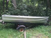 12 foot fishing boat with trailer have registration for