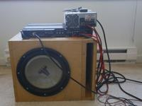 I am selling my 12-inch JL Audio car subwoofer in a