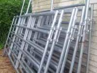 For sale!!!! 9 12' cattle panels, Galvanized steel in