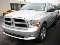 This 2012 Ram 1500 4WD Crew Cab 140.5 ST is offered to