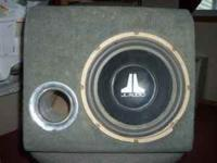 "12"" JL AUDIO subwoofer. Works great. $50, please call"