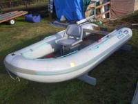 12ft asult, raft, make conquest excellent cond. With