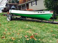 For sale I have a very nice 12ft fiberglass fishing