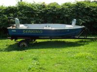 I have for sale a 12ft seaking boat. It is aluminum and