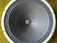 12in & 15in Speakers Excellent Condition - $25 ea