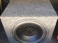 12' inch Cerwin Vega Subwoofer Subwoofer Speaker Box