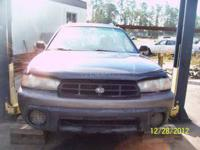 BLUE 1996 SUBARU OUTBACK SW, LEFT HAND DRIVE, ALL WHEEL